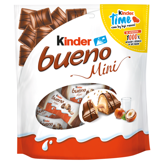 Kinder Bueno Mini Baton with peanut filling in crispy wafer oblanym milk chocolate 108g