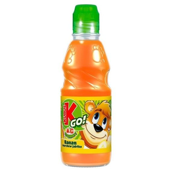 Kubuś Go! banana carrot apple juice from vegetables and fruits 300ml