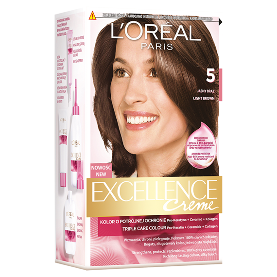 L'Oréal Paris Excellence Creme Hair dye 5 Light Brown