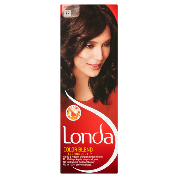 Londa Color Blend Technology Paint permanently Colouring 32 Mokka brown
