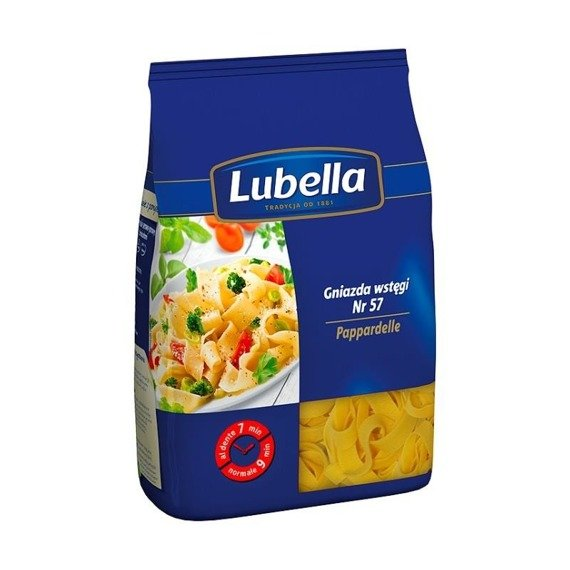 Lubella Pappardelle Pasta Nests ribbon 250g