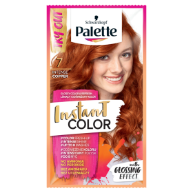 Palette Instant Color Shampoo coloring Intensive copper 7 25ml
