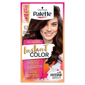 Palette Instant Color Shampoo coloring Medium Brown 17 25ml