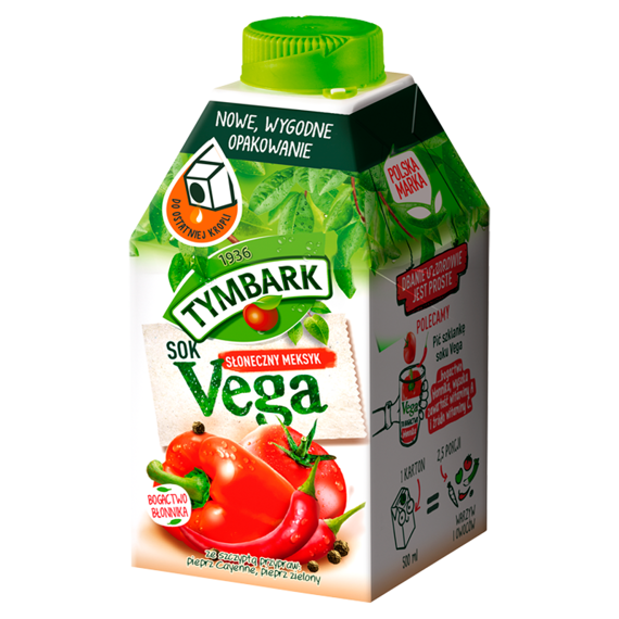 Tymbark Vega Sunny Mexico juice from vegetables and fruits 500ml