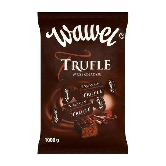 Wawel Truffles Candies flavored rum in czekoladzie1000g