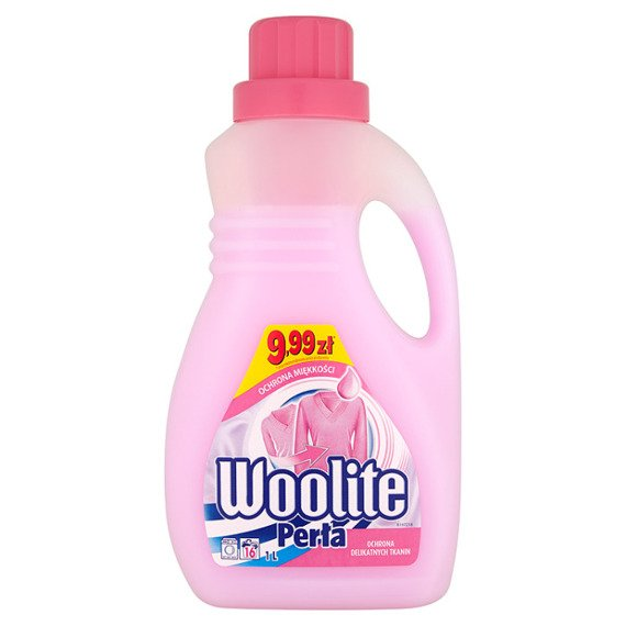 Woolite Pearl Protect delicate fabrics Washing liquid 1 l (16 washes)