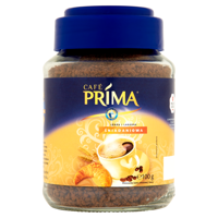 Café Prima soluble coffee blend breakfast cereal and coffee 100g