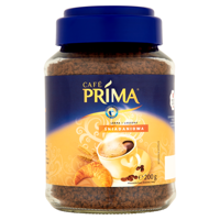 Café Prima soluble coffee blend breakfast cereal and coffee 200g