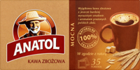Delecta Anatol strong coffee Cereal 147 g (35 bags)