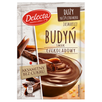 Delecta Big pudding chocolate flavor 64g