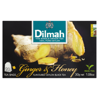 Dilmah Sri Lankan black tea with the aroma of ginger and honey 30 g (20 bags)