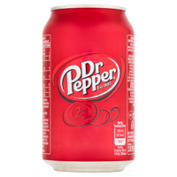 Dr Pepper fizzy drink 330ml
