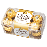 Ferrero Rocher crispy treat with cream filling and hazelnut in chocolate 200g