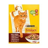 Friskies Meat of chicken and some vegetables Feed for adult cats 300g