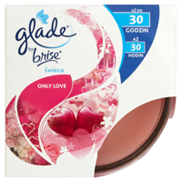 Glade by Brise Only Love Candle 120g