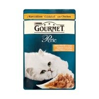 Gourmet Perle Mini fillets in sauce with chicken Cat Food 85g