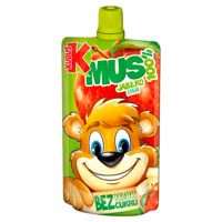 Kubuś Mus 100% apple banana 100g