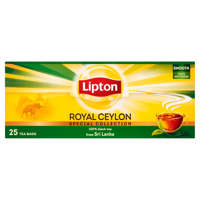 Lipton Royal Ceylon black tea 50 g (25 bags)