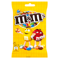 M&M's Peanut Peanuts covered with chocolate in colorful shell 90g