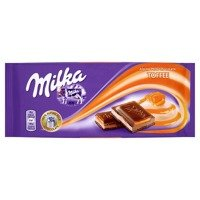 Milka Chocolate Toffee 100g