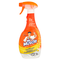Mr Muscle  Mr Muscle Kitchen 5in1 liquid spray to clean and disinfect kitchen 500ml
