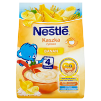 Nestlé rice porridge banana after 4 months 180g