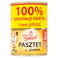 Pamapol pate poultry 390g