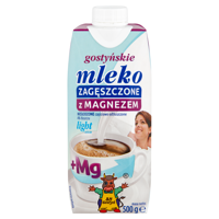 SM Gostyń unsweetened condensed milk Gostyń with magnesium light 4% 500g