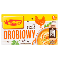 Winiary Chicken broth 60 g (6 blocks)