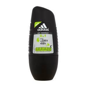 Adidas 6in1 Cool amp; Dry Antitranspirant Deodorant Rollon für Männer