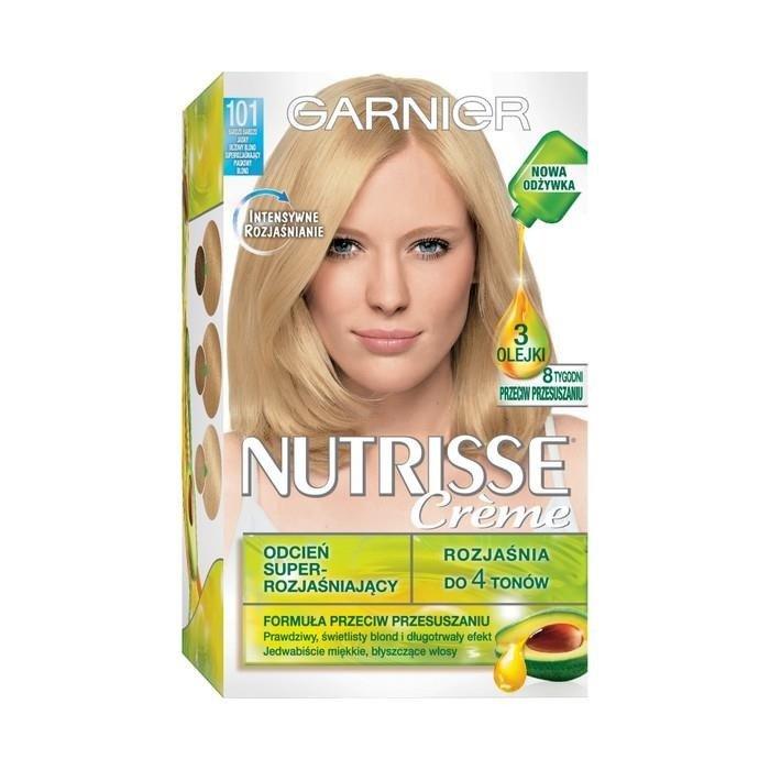 garnier nutrisse creme haarfarbe 101 sehr sehr hell beige blond superrozja niaj cy supermarkt. Black Bedroom Furniture Sets. Home Design Ideas