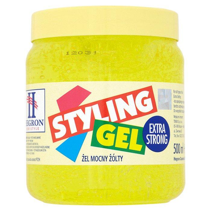 Hegron haargel stark gelb 500ml supermarkt online for Gelb karten gegen fliegen
