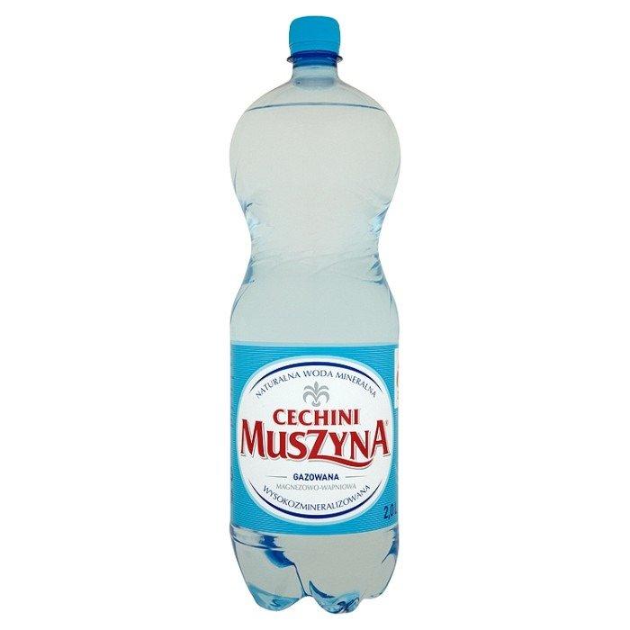 muszyna cechini nat rliches mineralwasser mit kohlens ure magnesium calcium 2l supermarkt online. Black Bedroom Furniture Sets. Home Design Ideas