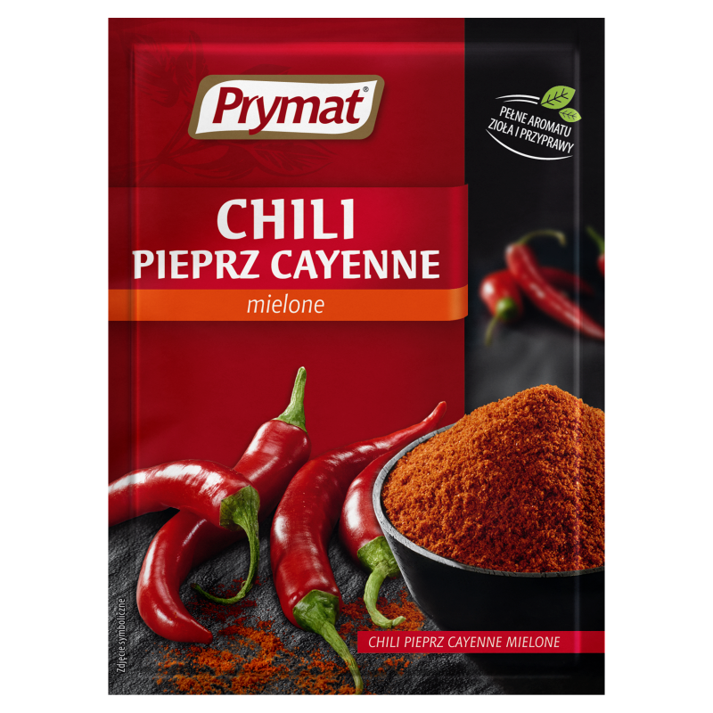prymat cayenne chili pfeffer gehackt 15g supermarkt online. Black Bedroom Furniture Sets. Home Design Ideas
