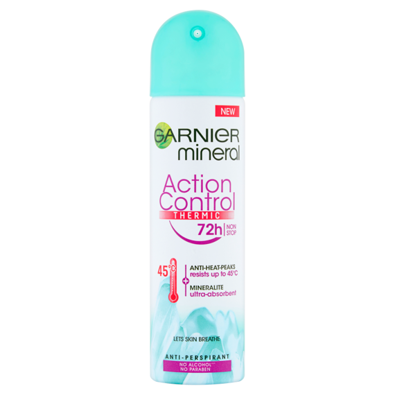 Garnier Mineral Aktionssteuerung Thermic Antitranspirant Spray 150ml