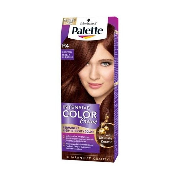 Palette Intensive Color Creme Haarfärbemittel Chestnut R4
