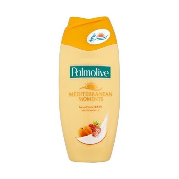Palmolive Mittelmeer Moments Aprikose mit Italien und Strawberry Shower Gel 250 ml