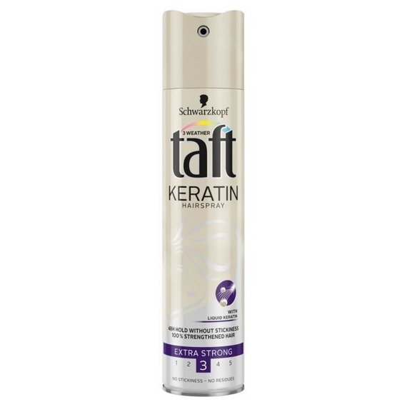 Taft Keratin Extra Strong Hairspray 250ml
