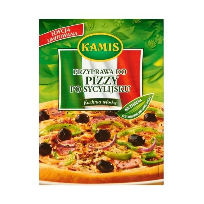 Kamis Kuchnia Włoska Przyprawa Do Pizzy Po Sycylijsku Mieszanka Przyprawowa 15g
