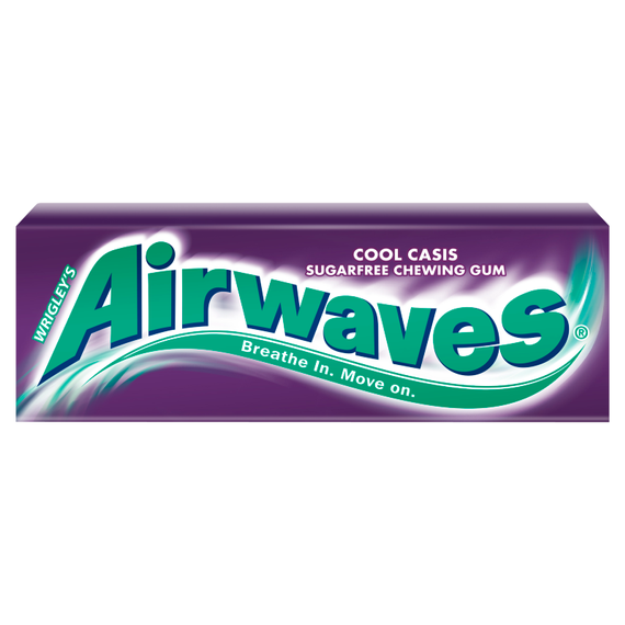 Airwaves Cool Cassis Guma do żucia bez cukru 14 g (10 drażetek)