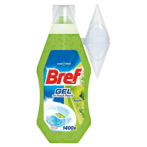 Bref WC with Fresh Pearls Apple Żel do toalet 360ml