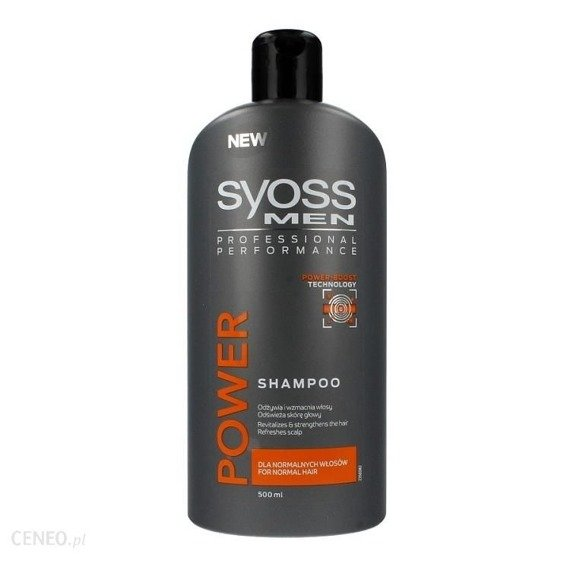 Syoss Men Power & Strength Szampon 500ml